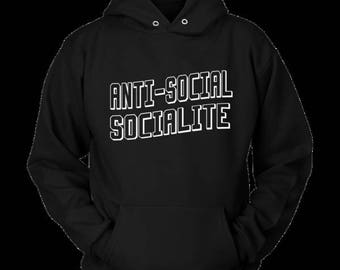 Anti-Social Social Club Socialite Hoodie New Hotness Fresh Urban Gear