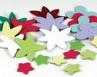 Leather Shapes Leather Trims Heart Trims Flower Trims Sewing to Leather shapes Leather Shapes