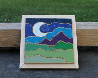 Midnight Moonlight Wooden Puzzle