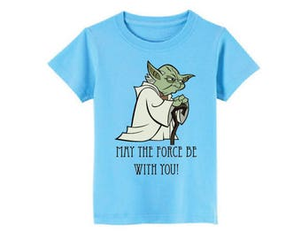 Yoda T-Shirt for children - available in many sizes and colors