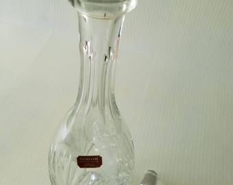 Vintage Barware Crystal Wine Decanter