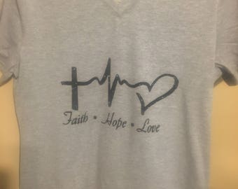 Faith Hope Love Tshirt