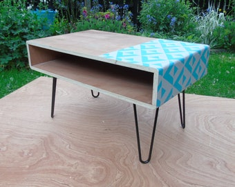 Plywood console/TV table.