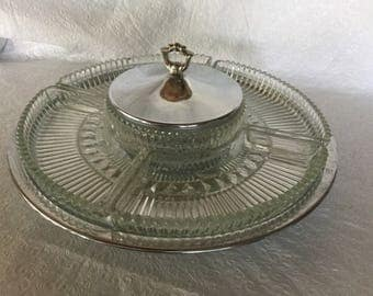 Vintage  Kromex Serving tray.