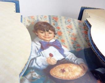 "Collectors ""Little Jack Horner"" Plate, Reco Mother Goose Plate"