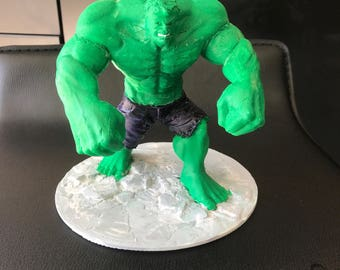 Hulk Statue - 3D Printed and Painted