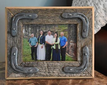 Rustic Wooden Picture Frame - FREE SHIPPING