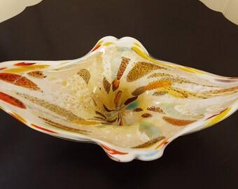 Avem Murano Art Glass Centrepiece Bowl