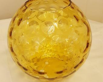 Czech Sklo Union Glass Vase