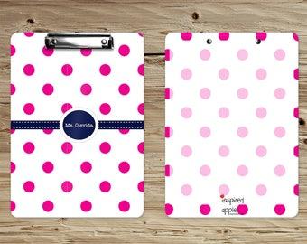 Personalized Clipboard - Teacher Gift - Custom Clipboard - Monogram Clipboard - School Clipboards - Gifts for Teachers - Dry Erase Clipboard