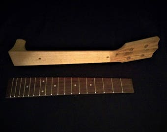 Neck and Fret board for Tenor Ukulele