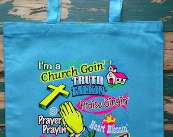 Christian Girl Tote Bag