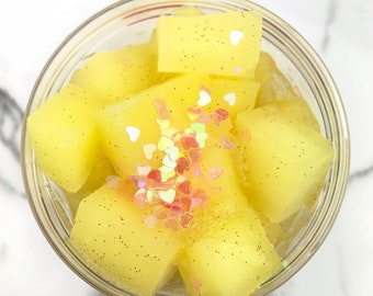 Pineapple Paradise Jelly Cube Slime