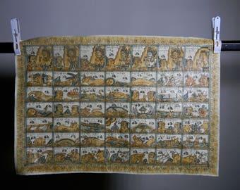 Unique calendar from Bali