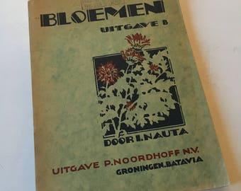 Vintage flora book 1932