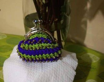 Cute handmade coin purse!