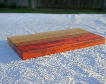 Cheese serving board // Oak edge grain cutting board // Handcrafted chopping board // Wood cutting board