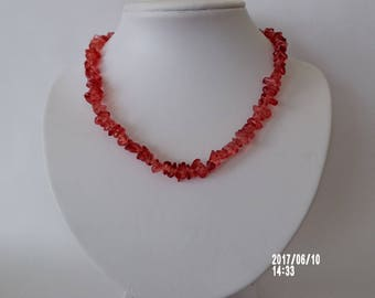 Cute red necklace