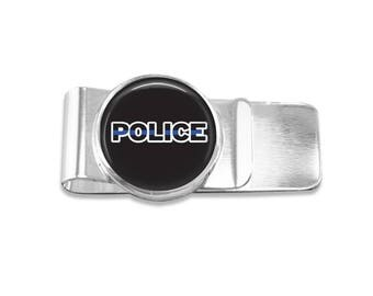 Police money clip policeman money clip police officer money clip wedding party gift mens money clip custom photo money clip groomsmen gift
