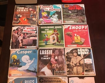 Vintage Sawyers View-Master Collection 1950's