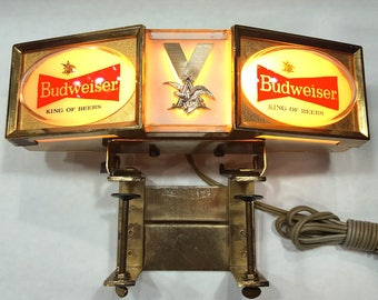 BUDWEISER Lighted Sign
