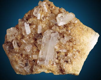 Baryte; Lamb Mine, Morgan Co., Missouri, USA  --- minerals and crystals