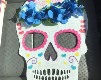 Day of the dead Skull decor