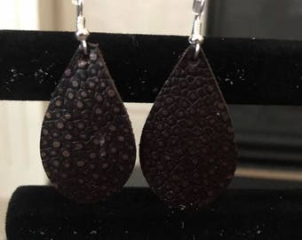 Leather Appeal Leather Earrings