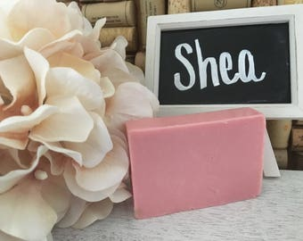 Solid Shea Soap | Aromatherapy Soap | Shea Soap | Custom Soap | Essential Oil Infused | Glycerin Soap