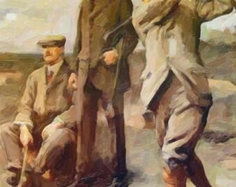 1900's golfers