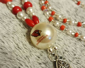 Arizona Cardinals Lanyards ID Badge Holder