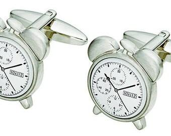 Table Clock Cufflinks (sc138)