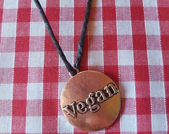 Handmade Vegan necklace