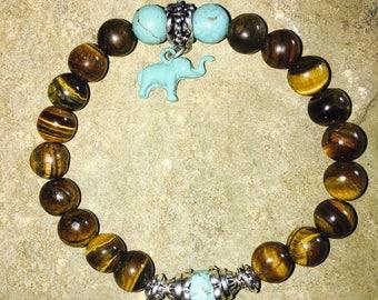 Tiger eye Mala meditation bracelet