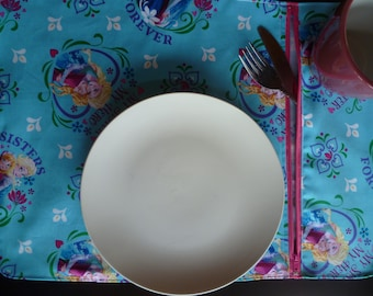 Doily compartment or lunch 'Frozen' theme