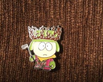 Kyle hat pin