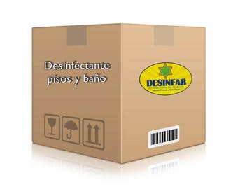 Box disinfectant for floors and bathroom