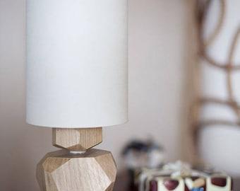 Oak night lamp AMIYA