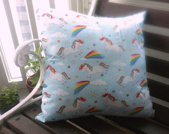 There Is Nothing Over The Rainbow (A cushion to accentuate your nightmares & dreamscapes).