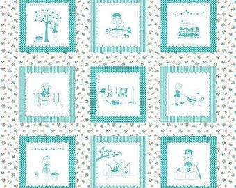 Tasha Noels The Simple Life Fabric Panel - Riley Blake Designs