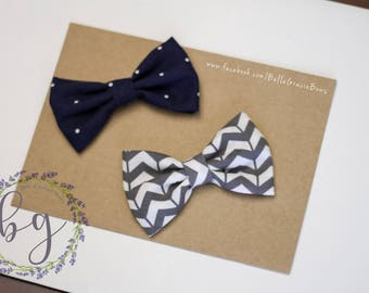Bow Tie Clips Set of Two