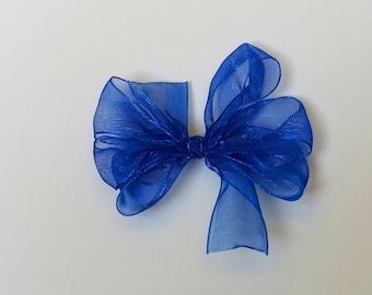 Shimmer Pinwheel Hair Bows