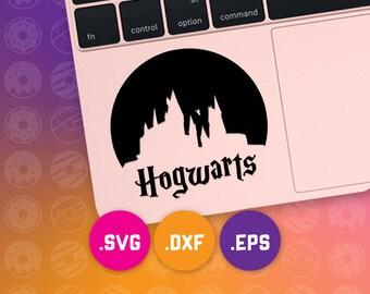 Hogwarts svg, Hogwarts dxf, Hogwarts cut files, Hogwarts cameo, Hogwarts cricut, Hogwarts vector, harry potter dxf, harry potter svg