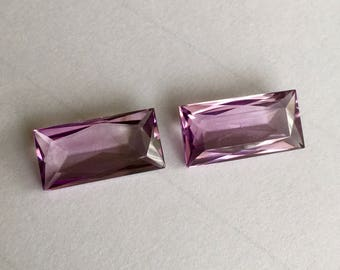 Amethyst loupe clean pair