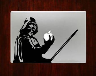 Darth Vader Lightsaber Star Wars Macbook Decal Stickers Fits Mac Pro / Air / Retina Sizes 11 / 13 / 15