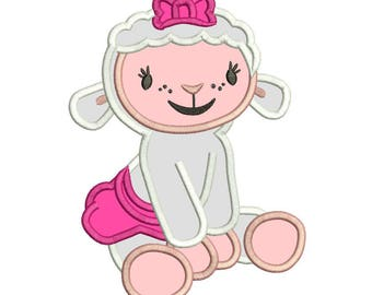 Doc McStuffins Applique Design 3 sizes for Instant Download