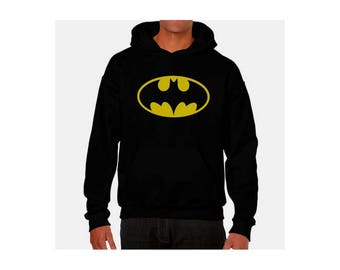 Sweatshirt Hoodie Batman different different sizes plus size sweatshirt