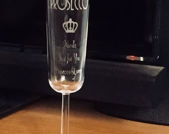 Prosecco Queen - for the girl who loves Prosecco  the perfect  gift