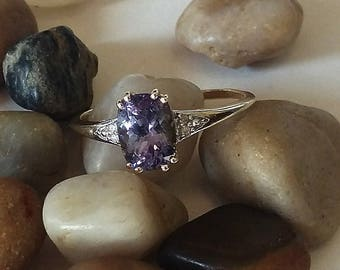 Custom Tanzanite Wedding Ring Cushion Multi Color Tanzanite Trendy Engagement Ring Promise Ring