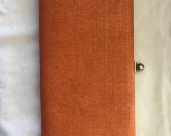 1960s orange clutch